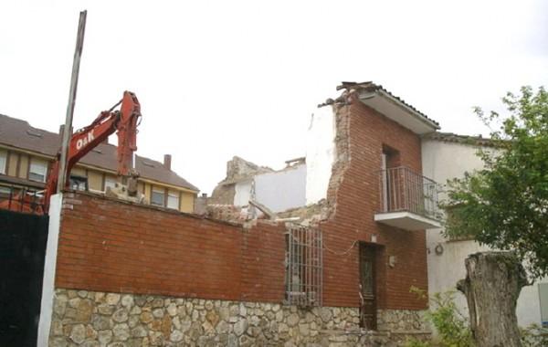 Demolición Casa, Guadalajara